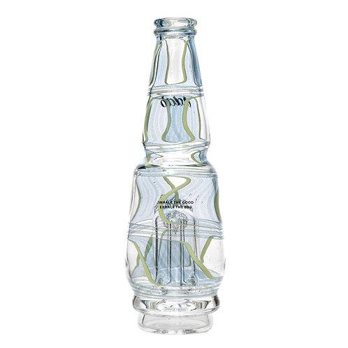 Sky Blue Worked Peak Glass by Idab Glass