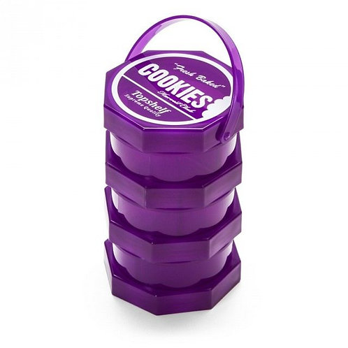 Cookies Storage Jar Regular (Purple)