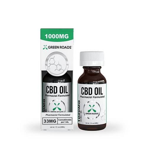Tincture - 1,000mg CBD Oil