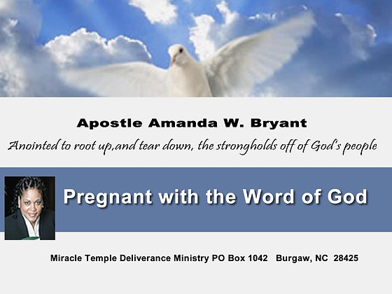Becoming pregnant with the Word of God