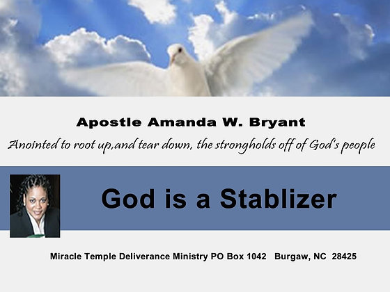 God is a stabilizer