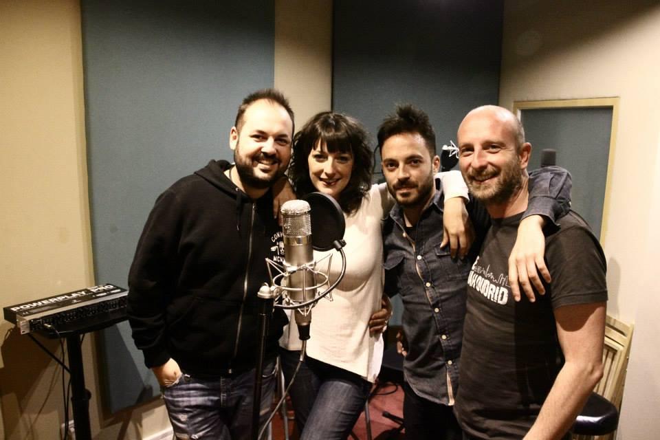 BORJA, MARA, ERNESTO Y SENI