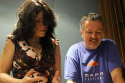 SARA VAN Y LUIS FERNANDEZ