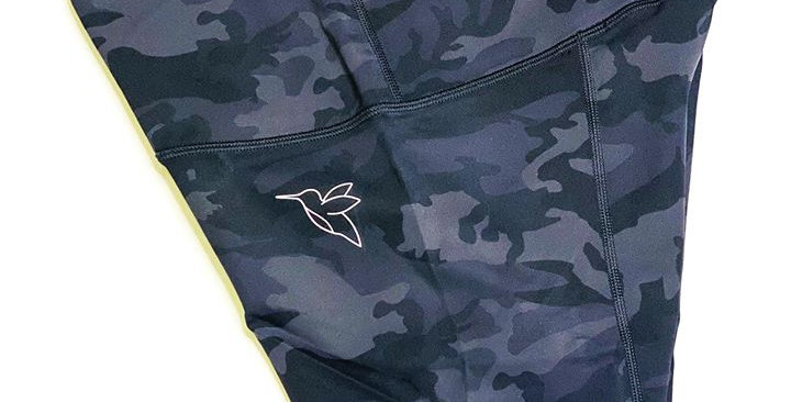 Ace Dry fit & high support camo print shorts