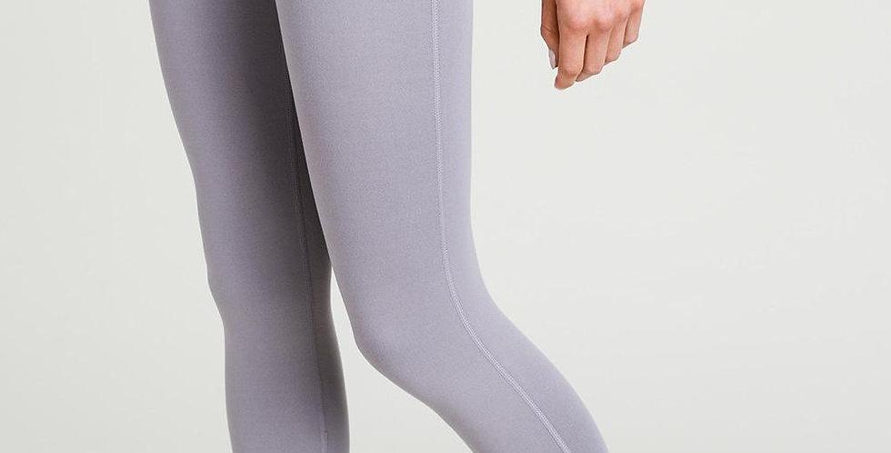 Lattice strap leggings - Mauve