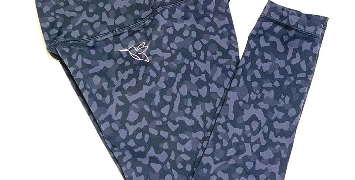 Ace high waist Dry Fit leopard print 7/8 Leggings
