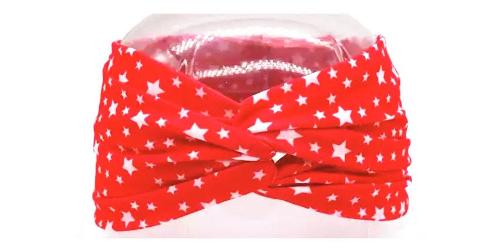 Red Background White Stars