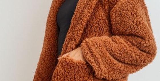 Rust Sherpa Jacket