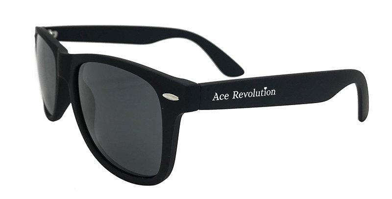 Polarized Ace Originals Matte Black Sunglasses
