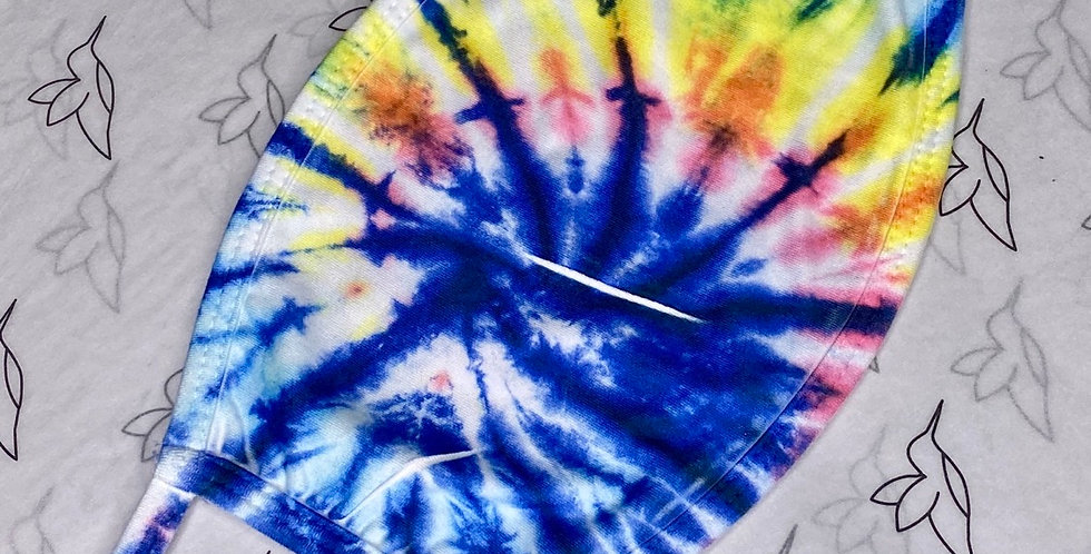 Tie dye multiple color