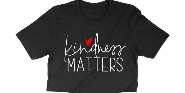 Kindness Matters crop tee