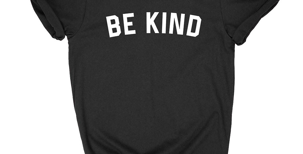 BE KIND GRAPHIC T-SHIRT-BLACK