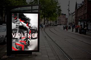 END VIOLENCE | Poster Design
