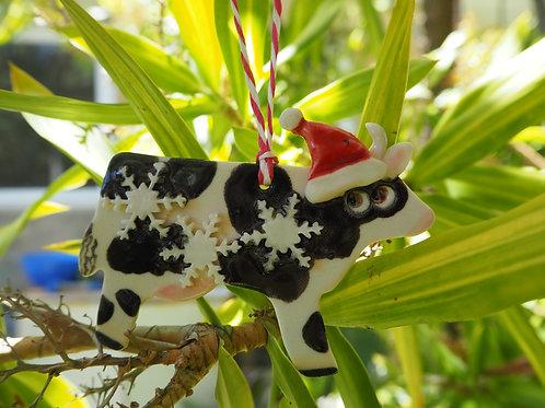 Paul the Christmas Cow