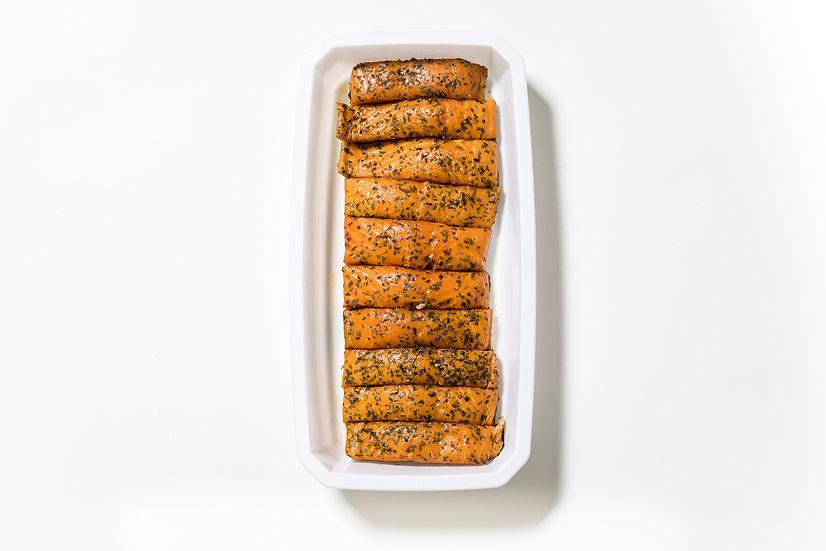 10Pavé de saumon fumé mi-cuit
