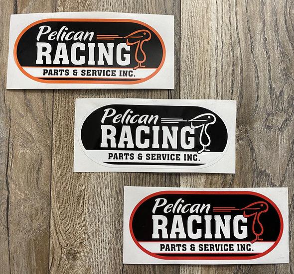 Pelican Racing Decals