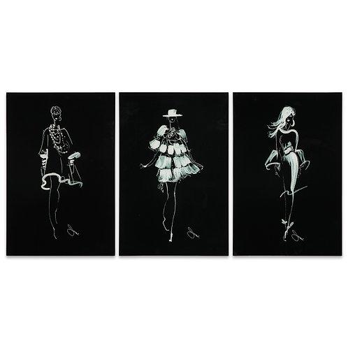 Fashion Walk- Set of 3- TMP-JP9966-2416-3