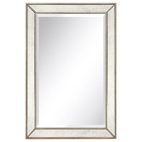 Champagne Beed Beveled Cheval Mirror- MOM-20210ANP-2436 ETA 10/31/20
