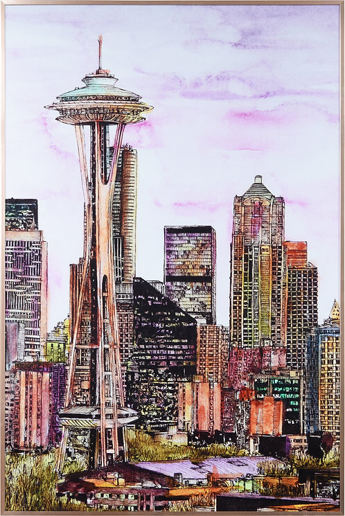 Seattle Skyline- AAGG-132441-3624