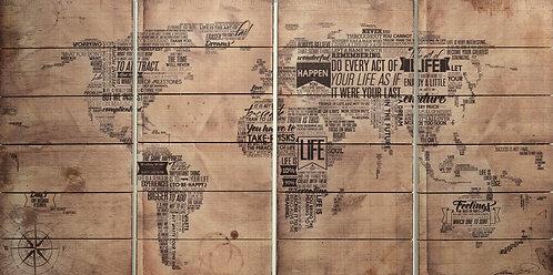 World Map- ADL-MBWLSC1-6030