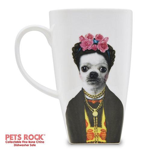 "Pets Rock™ ""Mexico"" Collectible Fine Bone China Mug: MUG-PR044-20"
