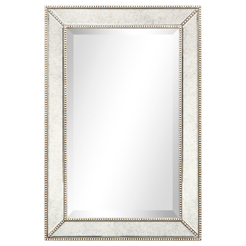 Champagne Beed Beveled Cheval Mirror- MOM-20210ANP-2030