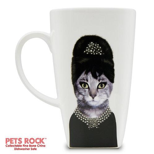 "Pets Rock™ ""Breakfast"" Collectible Fine Bone China Mug: MUG-PR001-20"
