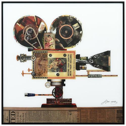 Antique Film Projector - AAGB-AZ003-2424