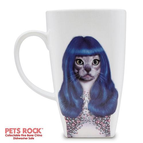 "Pets Rock™ ""Gurl"" Collectible Fine Bone China Mug: MUG-PR012-20"