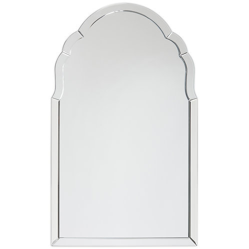 Elegant Beveled Wall Mirror II