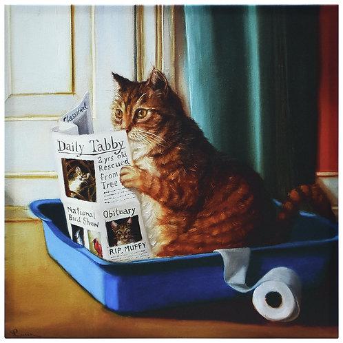 Cat On A Throne - GIC-H1440-1818