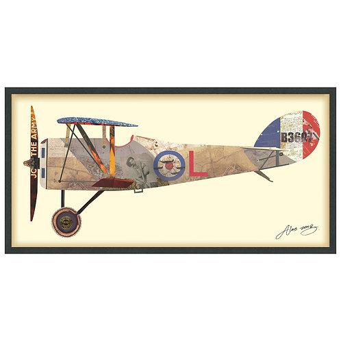 Antique Biplane #1: DAC-007-2548B