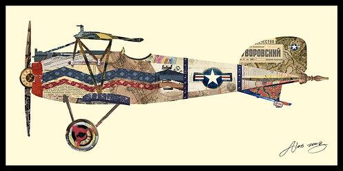Antique Biplane #3 - DAC-009