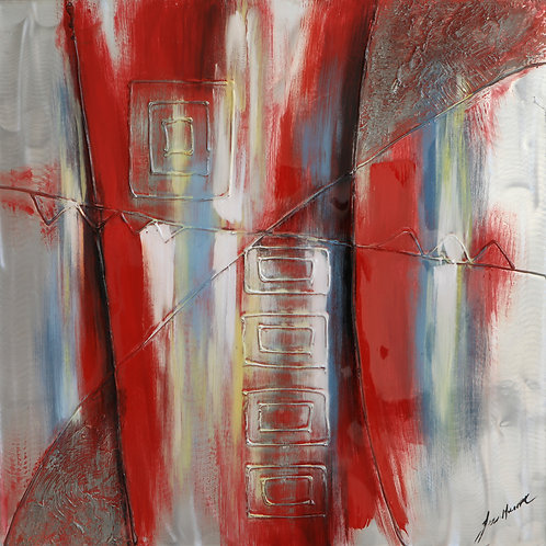 Red Striation 1A by Lee Huart