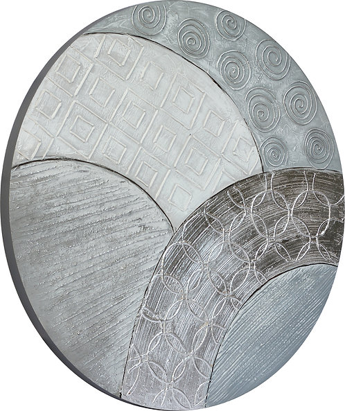 Peaceful Grey - Round - MAR-850B-36R