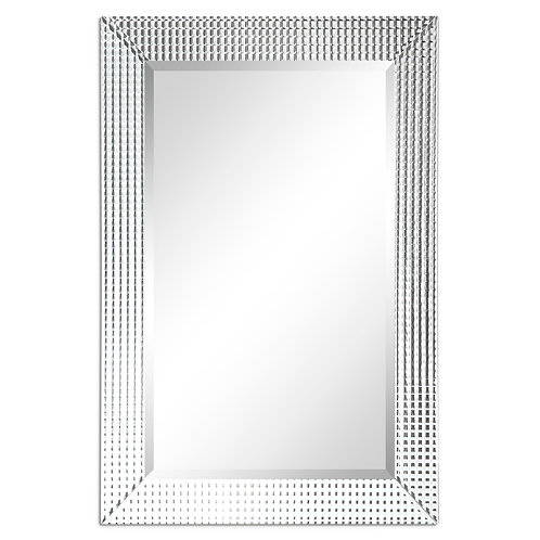 Bling Beveled Glass Cheval Mirror- MOM-20030PSM-2436