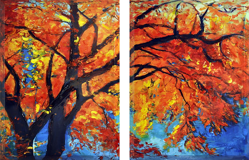 Autumn - Set of 2 - HPX-EAD0528