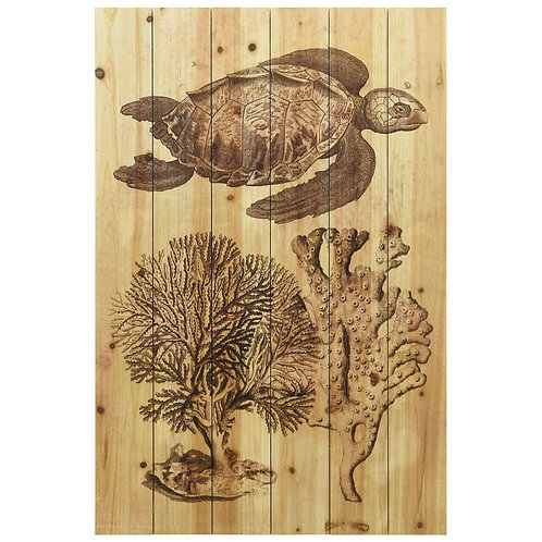 """Underwater Sea Turtle I"" - ADL-123546-3624"