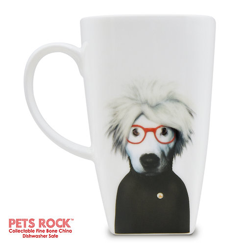 "Pets Rock™ ""Soup"" Collectible Fine Bone China Mug MUG-PR002-20"