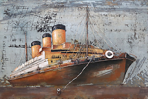 Vintage Ship - PMO-F0978-4832