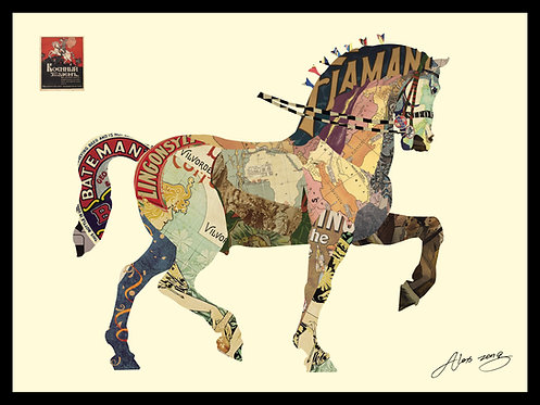 Carousel Horse - DAC-075