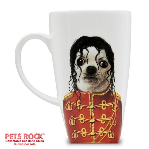"Pets Rock™ ""Pop"" Collectible Fine Bone China Mug: MUG-PR006-20"