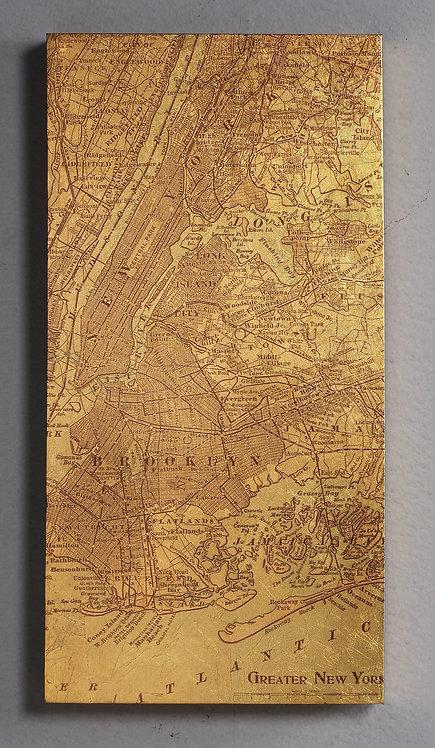 Tinted Map of New York - LFG-64886