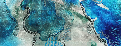 Subtle Blues B - TMS-129005B-2463