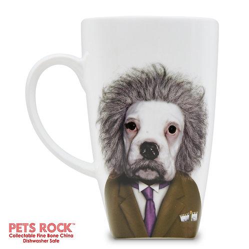 "Pets Rock™ ""Brain"" Collectible Fine Bone China Mug: MUG-PR019-20"