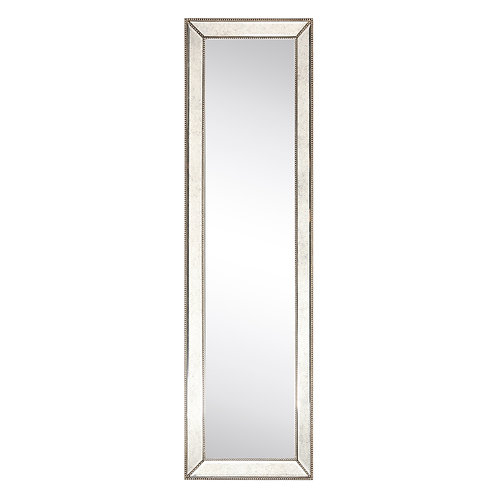 Champagne Beed Beveled Cheval Mirror- MOM-20210ANP-6418