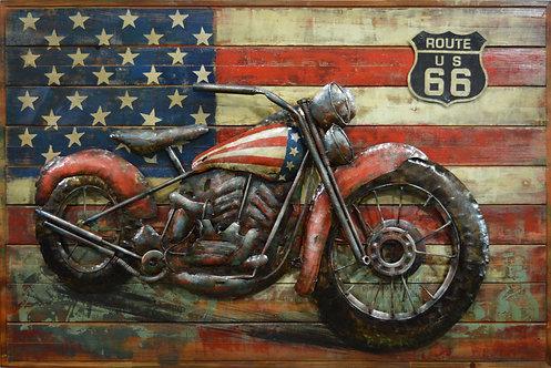 Vintage American Motorcycle - PMO-180126-4832