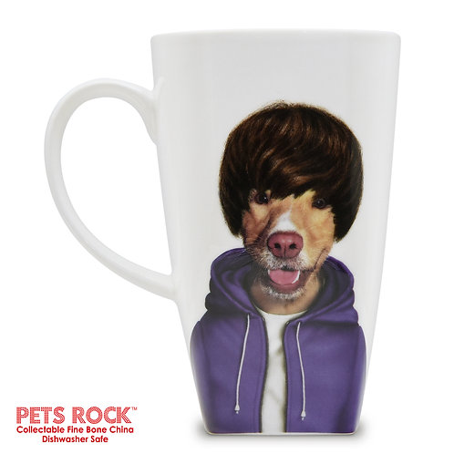 "Pets Rock™ ""Teen"" Collectible Fine Bone China Mug: MUG-PR008-20"