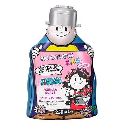 Shampoo Para Cabelo Cacheado Turma do Maluquinho Bio Extratus 250ml