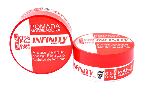 Pomada Modeladora Incolor Infinity Look Hair 150g